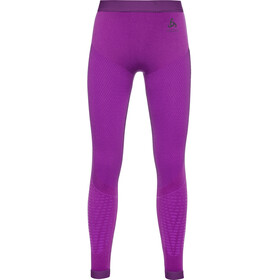 Odlo Performance Warm Pantalones Interiores Niños, purple cactus flower/charisma